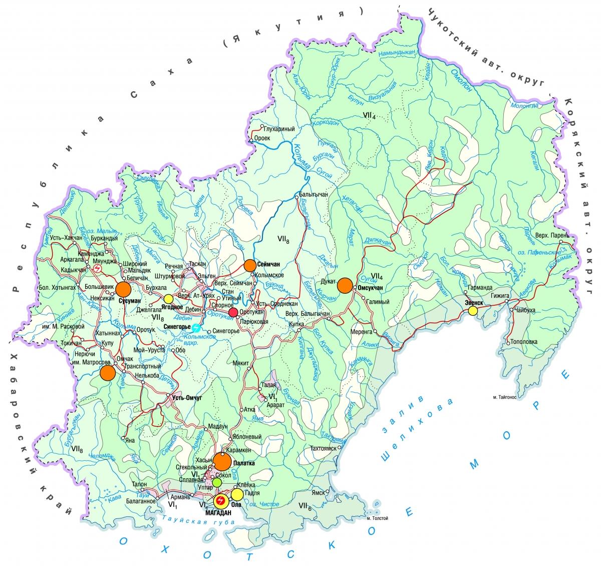 магаданская область фото