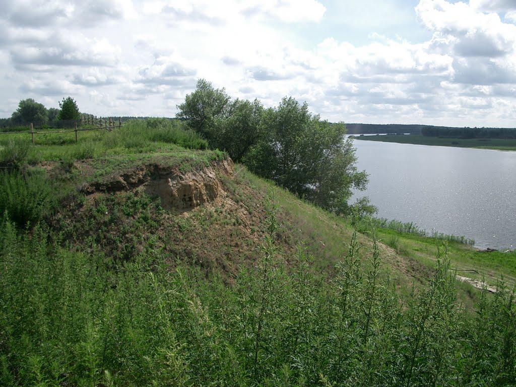 Озеро Кокуйское у села Усть-Чумыш.